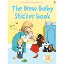 The new baby sticker book - Usborne