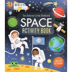 Little children's space activity book - Usborne