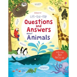 Lift-the-flap questions and answers about animals - Usborne