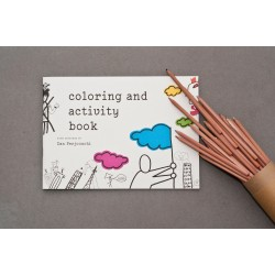 Coloring and Activity Book with Drawings by Dan Perjovschi