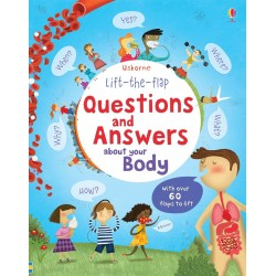 Lift-the-flap questions and answers about your body - Usborne