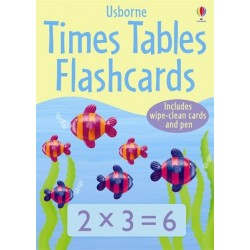 Times tables flashcards - Usborne
