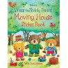 Dress the teddy bears moving house sticker book - Usborne