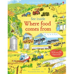 See inside where food comes from - Usborne