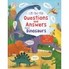 Lift-the-flap questions and answers about dinosaurs - Usborne