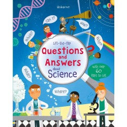 Lift-the-flap questions and answers about science - Usborne