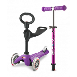 Trotineta Mini Micro 3 in 1 Deluxe Purple 1-6 ani