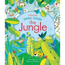 Peep inside the jungle - Usborne