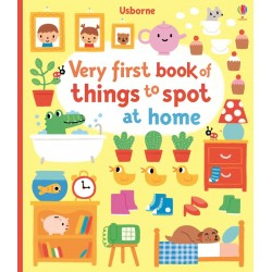 Very first book of things to spot at home - Usborne