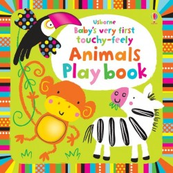 Baby's very first touchy-feely animals play book - Usborne