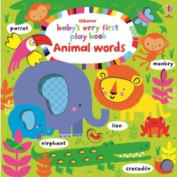 Baby's very first play book animal words - Usborne