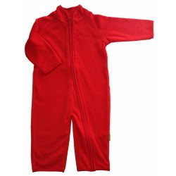 Overall fleece red - CeLaVi