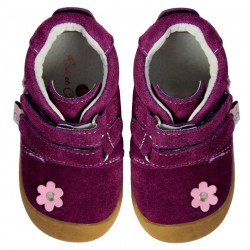 Rose et Chocolat - Suede Flower Purple