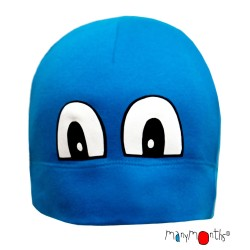 Caciula din bumbac organic ManyMonths Eco - Cool Eyes Beanie