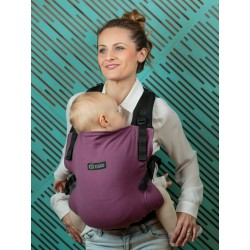 Marsupiu SSC Isara V3 Toddler Half Wrap Conversion - Burgundivine
