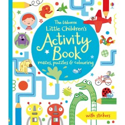 Little children's activity book - Usborne