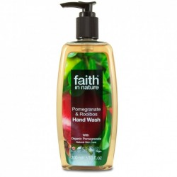 Sapun lichid cu rodie si rooibos, Faith in Nature, 300 ml
