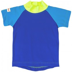 Tricou cu filtru UV ImseVimse - Blue/Green