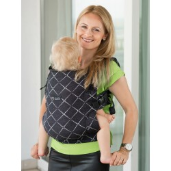 Marsupiu SSC Isara V3 Toddler Full Wrap Conversion - Diamonda Black Denim