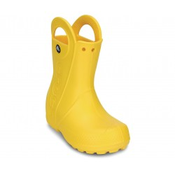 Cizme Crocs - Kids' Handle It Rain Boot - Yellow