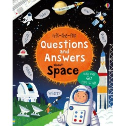 Lift-the-flap questions and answers about space - Usborne