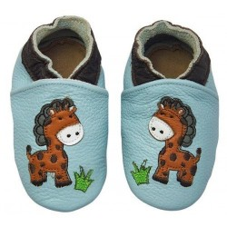 Rose et Chocolat - Jungle Giraffe Baby Blue
