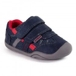Papucei Pediped Grip 'N' Go Gehrig Navy/Cherry