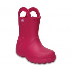 Cizme Crocs - Kids' Handle It Rain Boot - Candy Pink