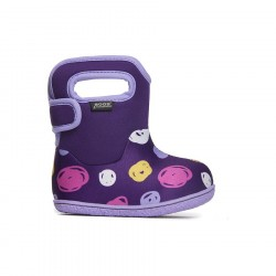 Baby Bogs Sketched Dots Purple Multi