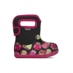 Baby Bogs Owls Black Multi