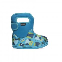 Baby Bogs Owls Blue Multi