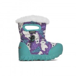 B-Moc Bears Purple Multi - Bogs