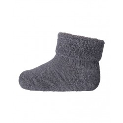 Sosete groase mp Denmark din lână Wool Terry - Grey Marled