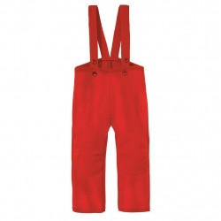 Pantaloni Disana din lana organica boiled wool - Red