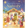 First Sticker Book Nativity - Usborne