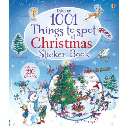1001 things to spot at Christmas sticker book - Usborne
