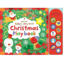 Baby's very first touchy-feely Christmas play book- Usborne
