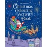 Christmas colouring and activity book - Usborne