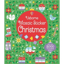 Mosaic sticker Christmas - Usborne