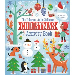 Little children's Christmas activity book - Usborne