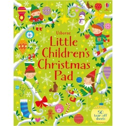Little children's Christmas activity pad - Usborne