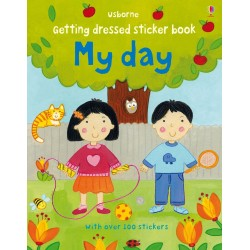 Getting dressed sticker book: My day - Usborne