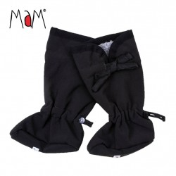 Botosei MaM SoftShell Winter Booties pt babywearing - Black/Rock Grey