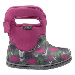 Baby Bogs Classic Animals Multi-Pink