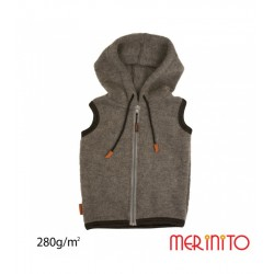 Vesta Merino Soft Fleece - Shark Gray