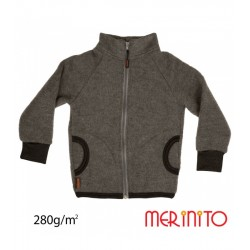 Jacheta Merino Soft Fleece - Shark Gray