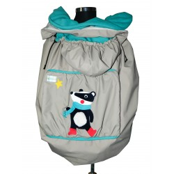 Protectie SSC de iarna 3 in 1 Littlebee - Badger on Cream