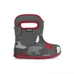 Baby Bogs Classic Polar Bear Dark Gray Multi