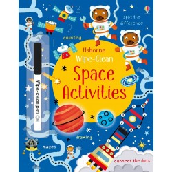 Wipe-clean space activities - Usborne
