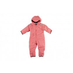 Snowsuit (costum de iarna) funky red (baby) - Ducksday